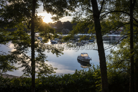 moorage on quiet waters lezardrieux brittany