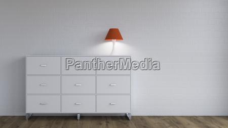 espacio ilustracion ver luz lampara comoda