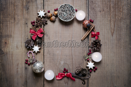 christmas decoration advent wreath