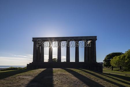 great britain scotland edinburgh calton hill