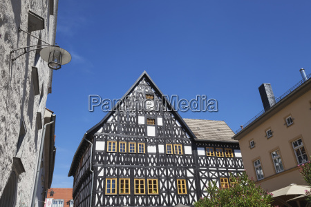 germany thuringia weimar historical half timbered