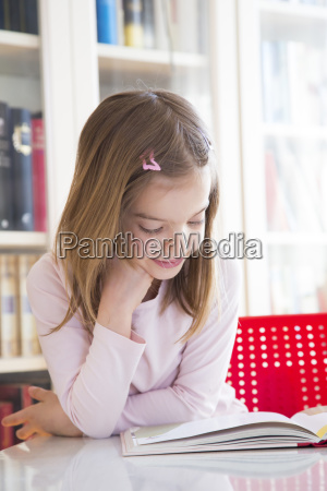 portrait of smiling little girl at