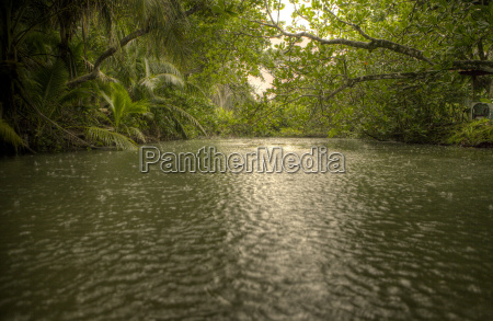 river at the entrance of the
