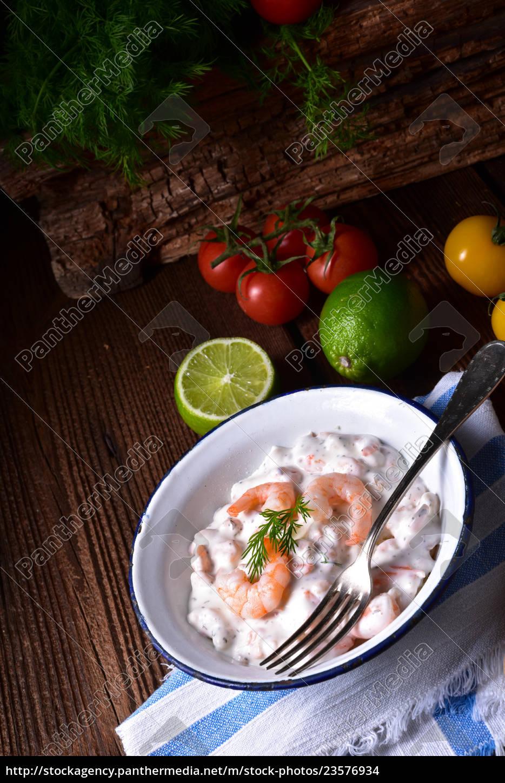 rustic, crab, salad - 23576934
