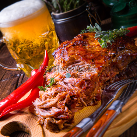 tasty, barbecue, pulled, pork - 23576864