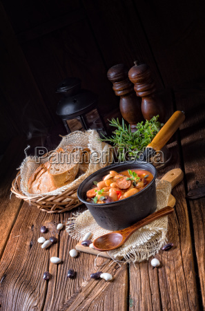 polish, baked, beans, with, sausage - 23577768