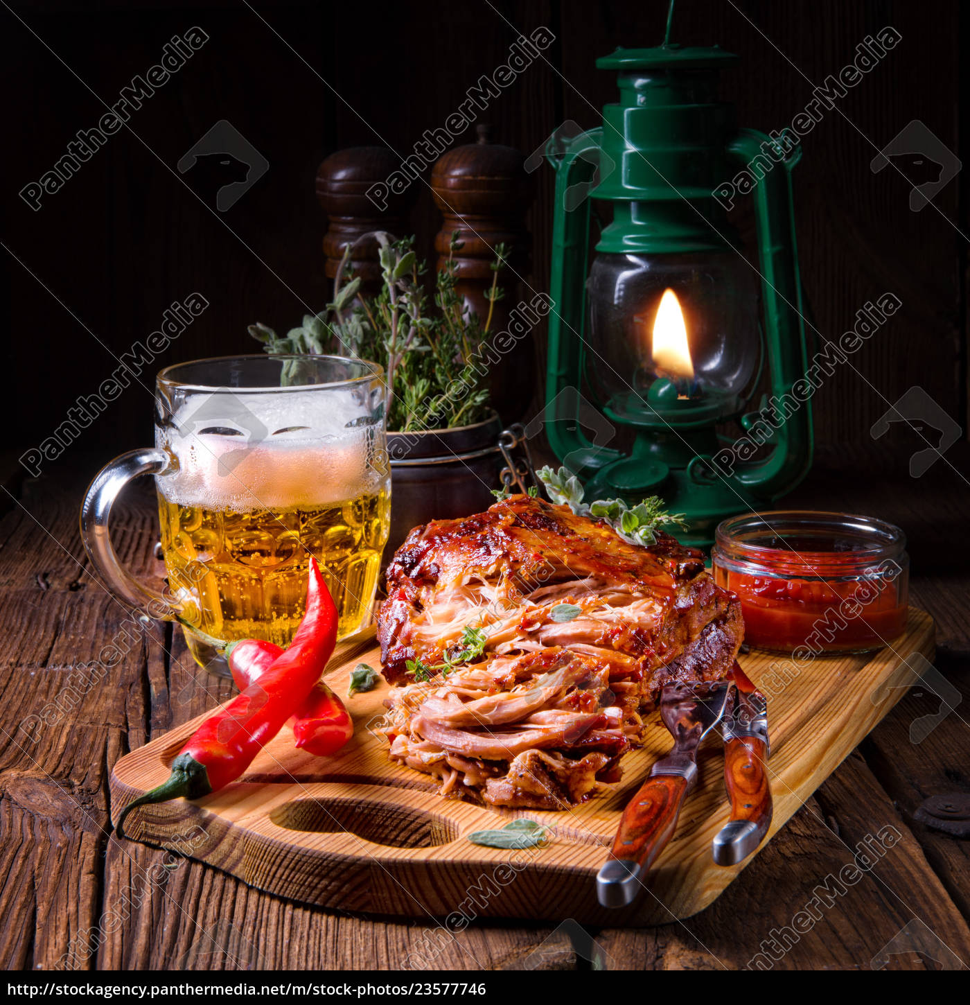 tasty, barbecue, pulled, pork - 23577746