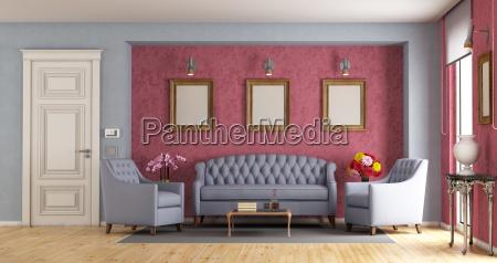 classic, living, room - 23583676