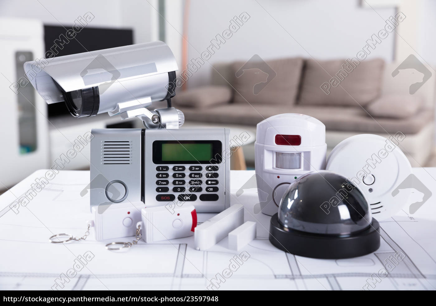 close-up, of, security, equipments - 23597948