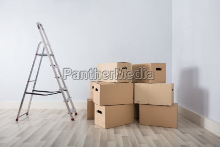 boxes, in, new, house - 23600584