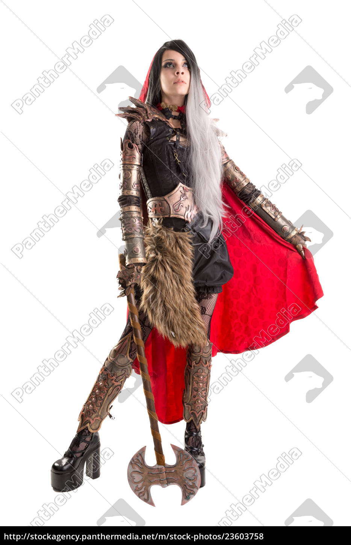 dark, red, riding, hood - 23603758