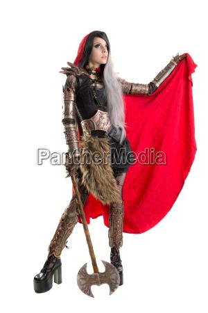 dark, red, riding, hood - 23603760