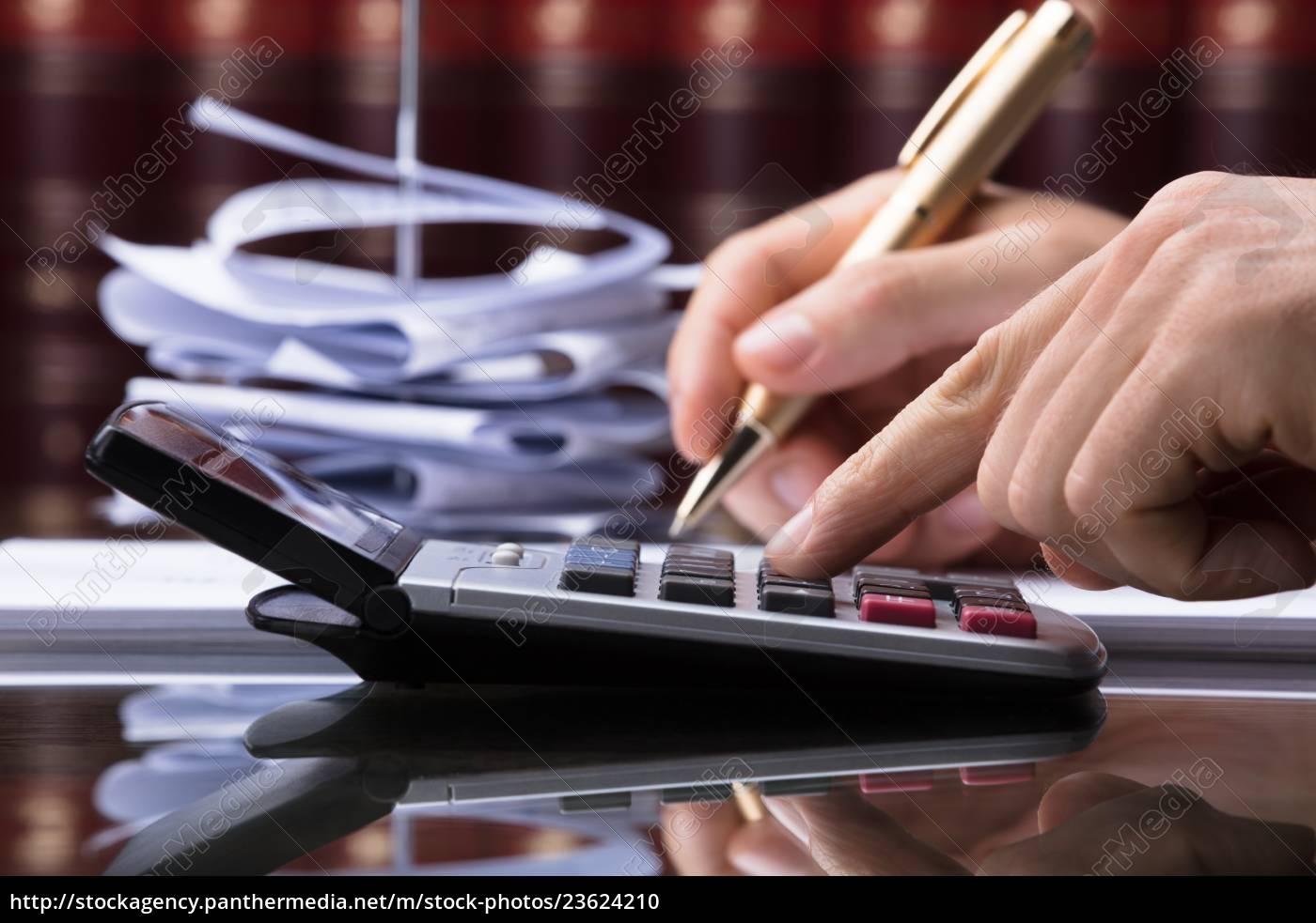 human, hand, calculating, bill - 23624210