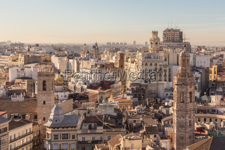 cityscape aerial view of buildings of