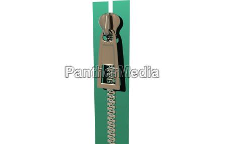 zipper with zipper