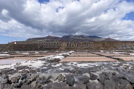 volcano teneguia and san antonio with