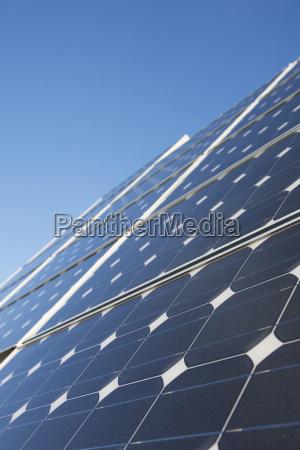 close up of solar panels homer