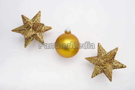 one christmas tree bulb ornament in