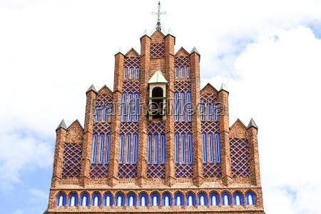 14th century gothic church of corpus