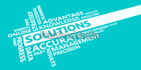 solutions presentation background