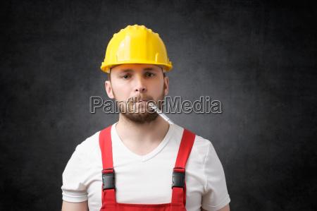 sick construction worker
