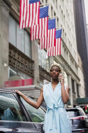 usa new york young blonde african