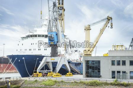 south africa cape town cargo ship