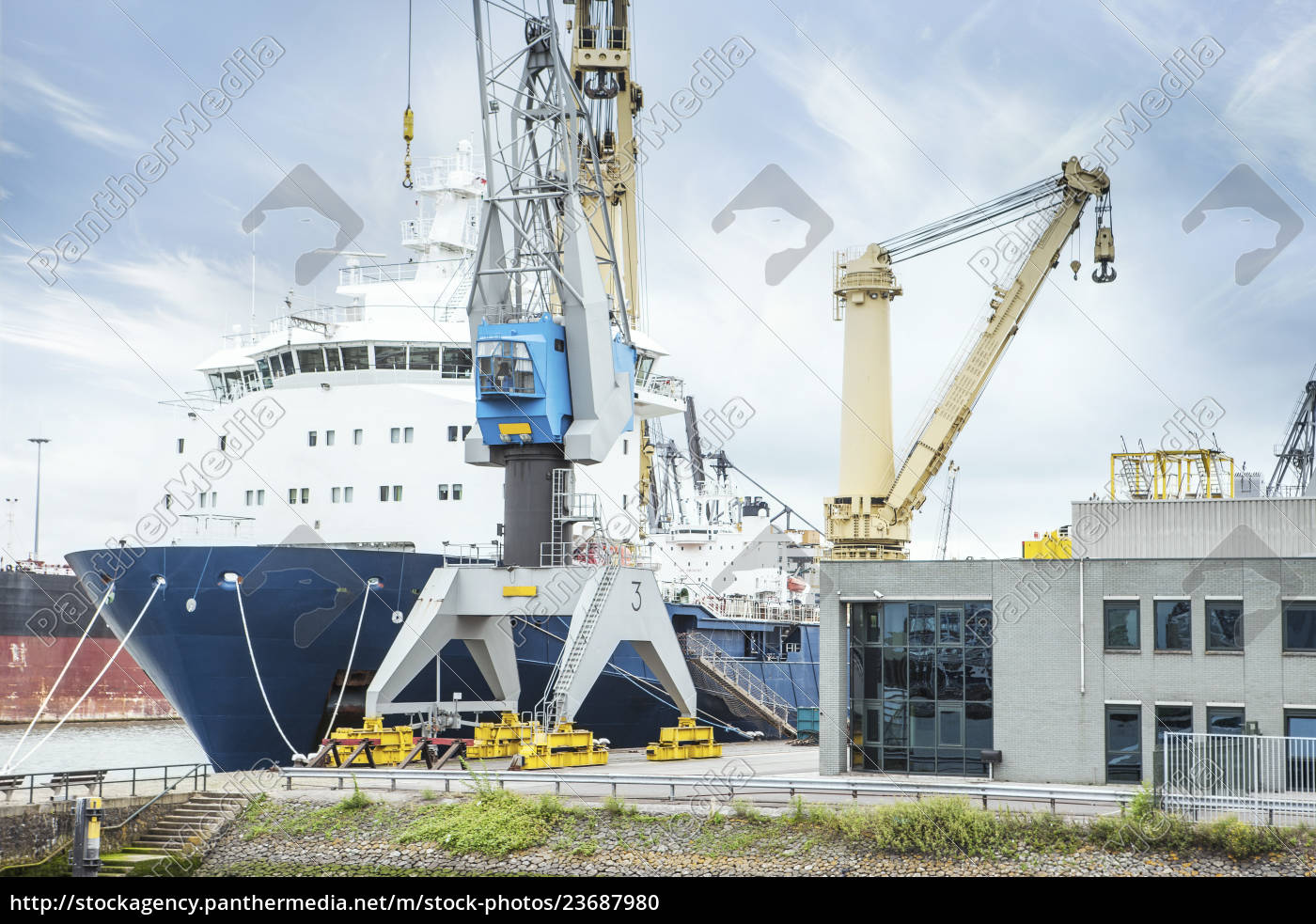 south, africa, , cape, town, , cargo, ship - 23687980