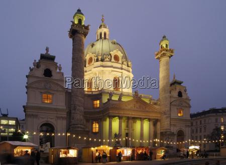religion church culture night photograph vienna