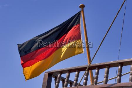 kieler woche 2005 germany flag of