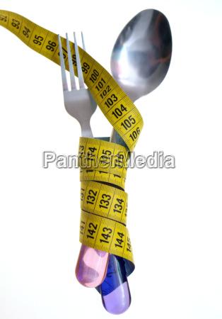 lose losing loosing food aliment symbolic
