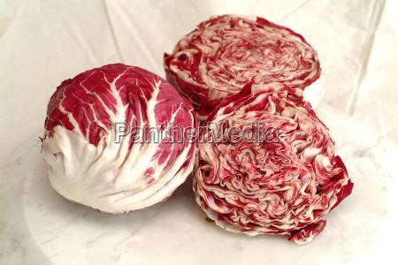 radiccio rosso salat gemuse vitamine ernahrung