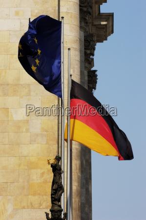 buildings european caucasian berlin capital parliament