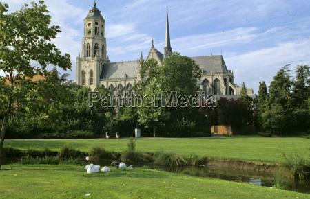 st gummarus church in lier belgium