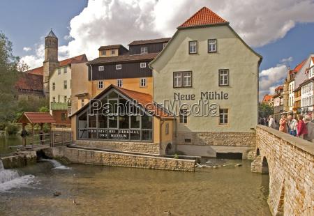 house building historical city town bridge