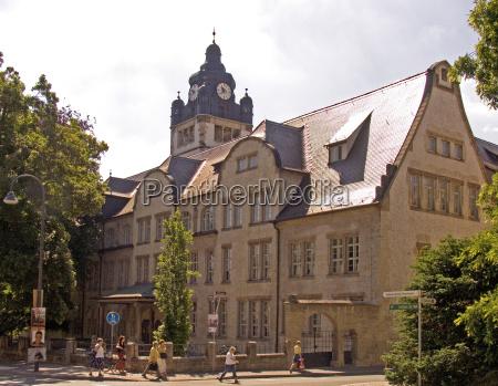 city town masters europe thuringia university