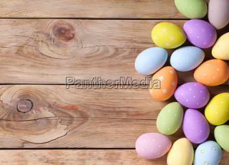 easter, background, with, easter, eggs - 23735282