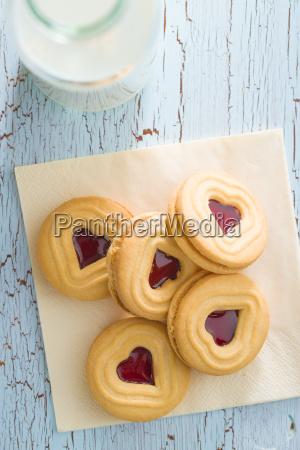 sweet jelly cookies