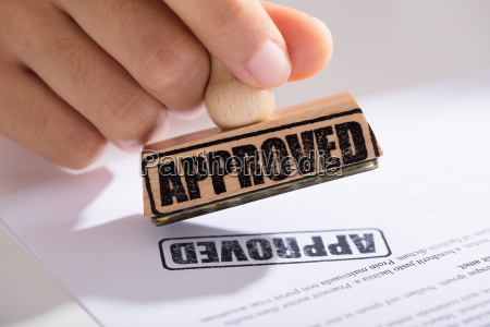 person approving contract form
