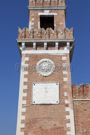 venetian arsenal complex of former