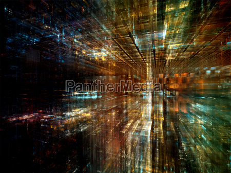 processing virtual world