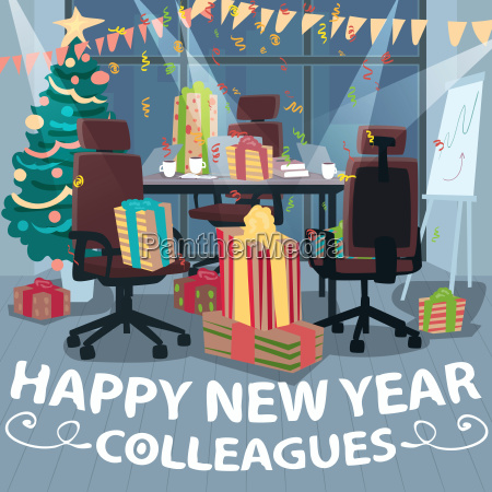 congratulations happy new year from colleagues