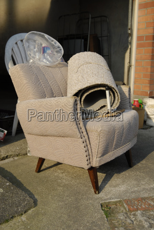 armchair furniture loneliness broken chairs solitary