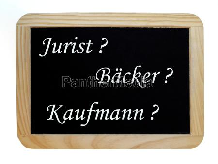 symbolbild vocational training lawyer backer or