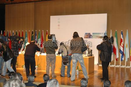 media interest press conference