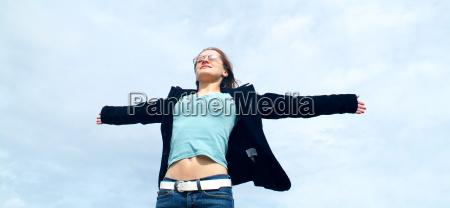 symbolism freedom lightness enjoyment in the