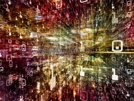 eleganza dello spazio digitale