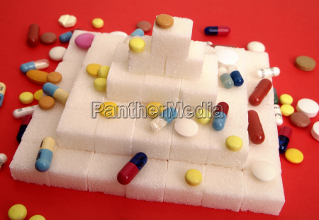 health insalubrious symbolic sugar pyramid health