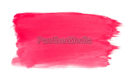painted surface with red pink color