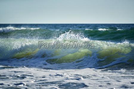 wave sea gischt splashes